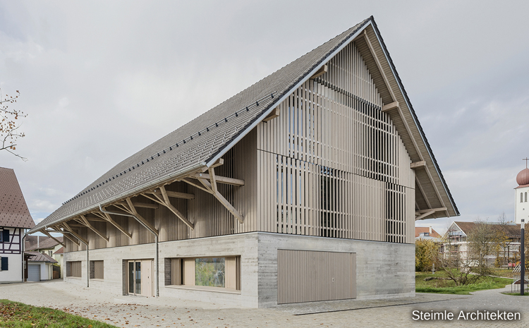 Architektur in Holz